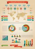 Infographic prvek. Statistika obyvatelstva