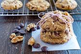 Domácí čokoláda čip cookies s ořechy