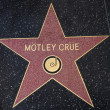 Постер, плакат: Motley Crue star on the Walk of Fame