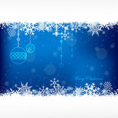 Blue christmas background with copy spaceai10 vector file included