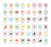 SEO a vývoje sady ikon