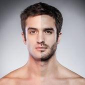 Fele borotvált