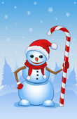 Santa sněhulák