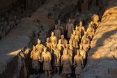 The Terracotta Army or the Terra Cotta Warriors and Horses