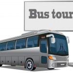 Постер, плакат: Tourist bus