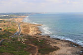 Izrael Libanonu pohraniční oblasti Roš ha-nikra Prohlédni pobřežní silnici