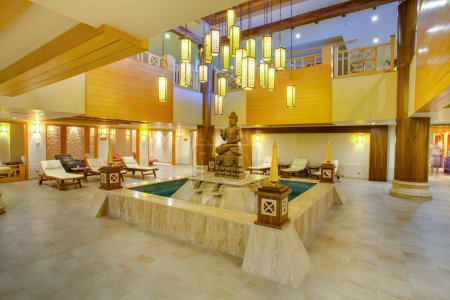Постер, плакат: Spa facilities, холст на подрамнике