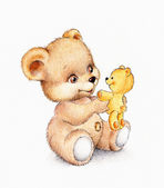 Aranyos maci, medve bébi