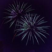 Feuerwerk für Silvester oder für Unabhängigkeit-Tag, 4. Juli und andere Feierlichkeiten