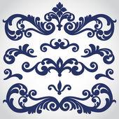 Barokní ornament ve viktoriánském stylu