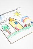 Gyerekek rajz