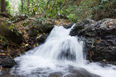 Small beautiful waterfall in Lampang,  Thailand
