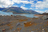 Perito moreno gleccser és alpesi táj, Patagónia Argentína