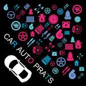 Car part information EPS10