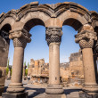 Постер, плакат: Ruins of the Zvartnots Cathedral in Armenia