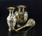 Antiken indischen Vasen