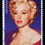 Постер, плакат: Marilyn Monroe Postage Stamp