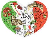 Olaszország-ikonok