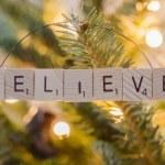 Постер, плакат: Believe Christmas Ornament