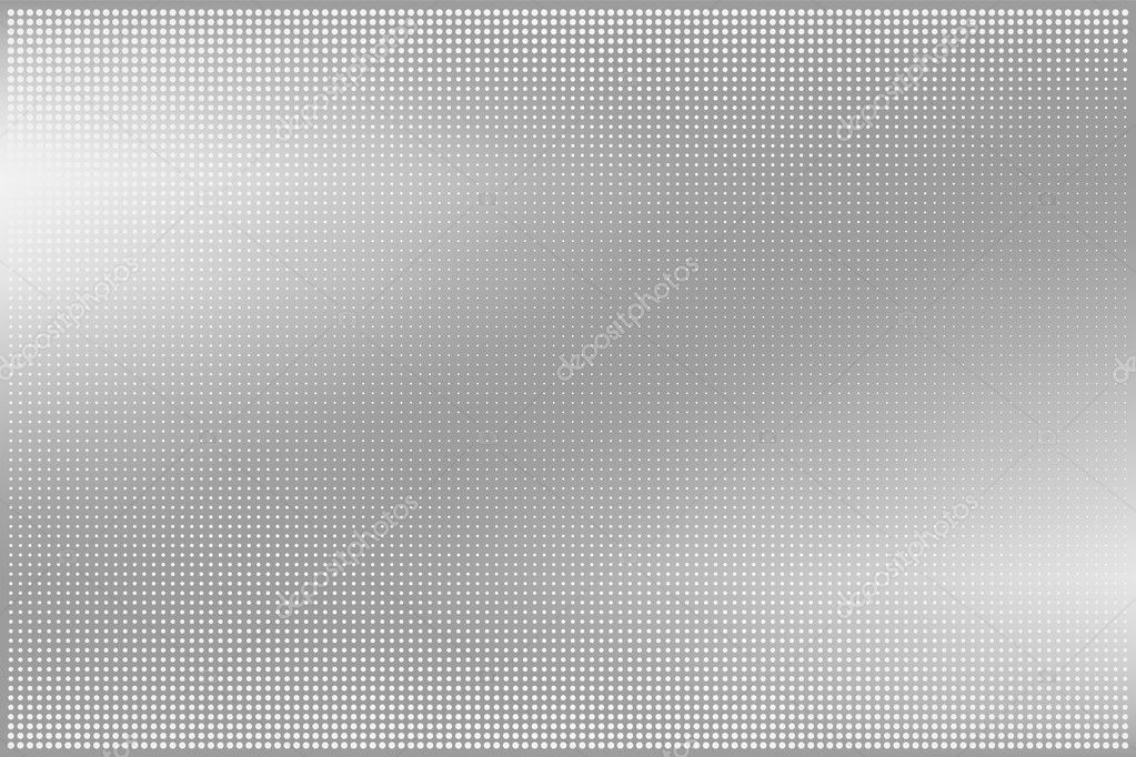 Dotted metal abstract backround