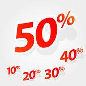 Vektorový soubor popisků %