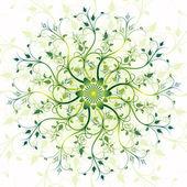 Blumen Frühling Runde Rahmen