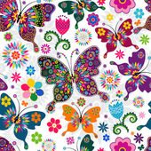 Photo Seamless spring pattern