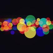abstraktní disco a strana pozadí pro váš design