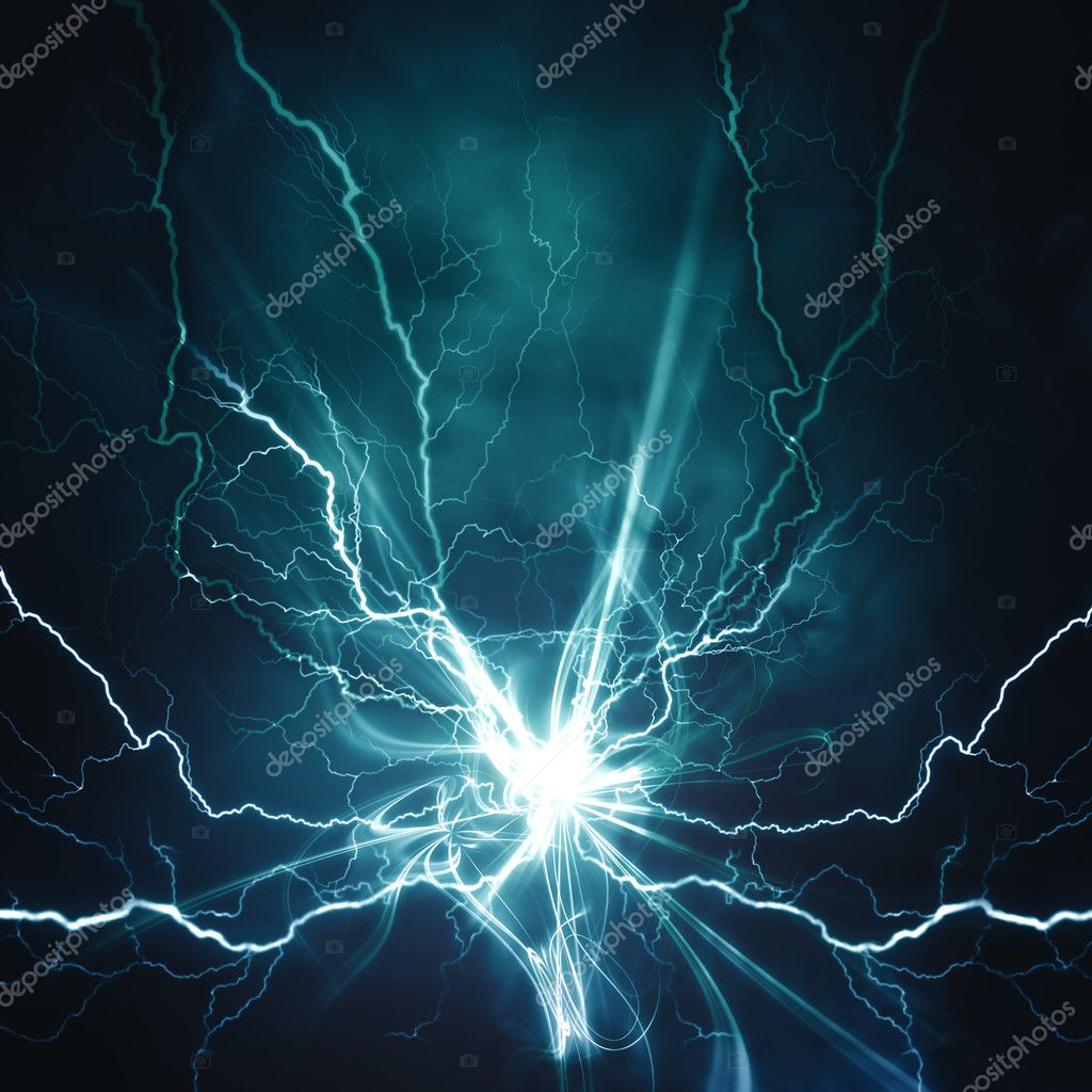 Electric lighting effect, abstract techno backgrounds