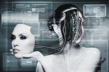 Biomechanical Woman