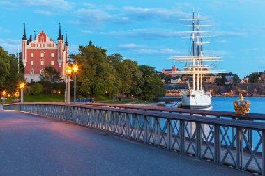 Evening scenery of Stockhom, Sweden
