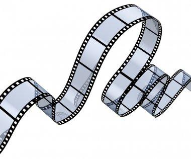 Transparent filmstrip
