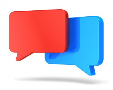 Social networking and chat concept