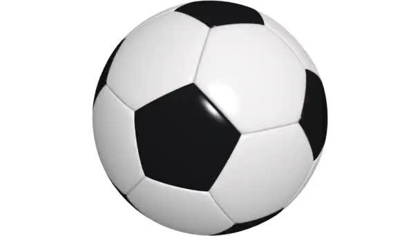 rotačního fotbalový míč