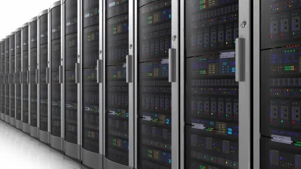 nekonečné pohybuje řadu síťových serverů