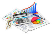 Fotografie Finance and accounting concept