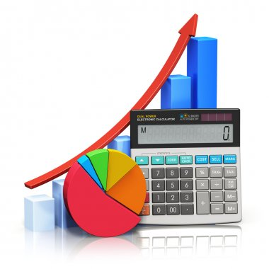 Financial success and accounting concept