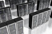 Síťové servery v datacenter