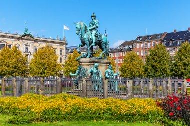 Christian V statue in Copenhagen, Denmark