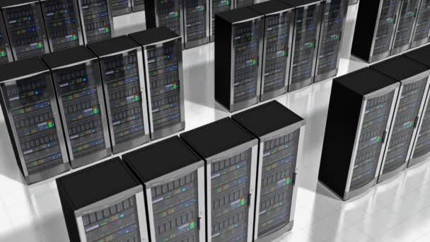 Netzwerk-Servern im Rechenzentrum