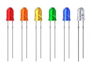 Set of color LEDs