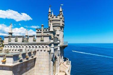 Swallow's Nest Castle in Yalta, Crimea, Ukraine