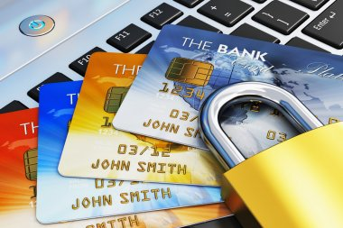 Mobile banking security concept