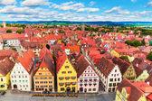 Fotografie Luftaufnahme von Rothenburg ob der tauber, Deutschland