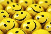 šťastné žluté smajlíky