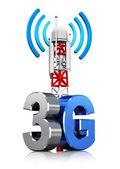 3G wireless communication concept