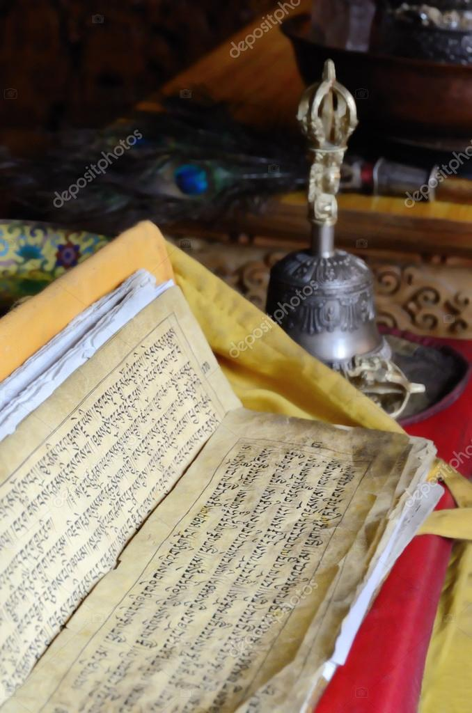 Buddhist text — Stock Photo © eAlisa #21600503