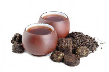 Black pu-erh tea
