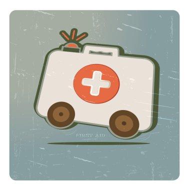 Medicine chest on wheels