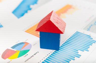Real estate market concept